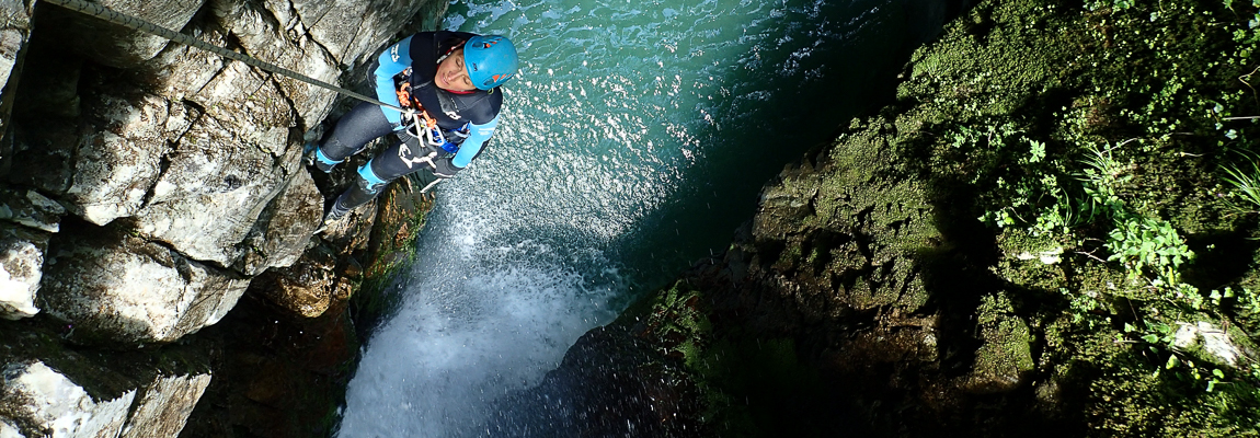 Canyoning au Pays Basque et en Béarn