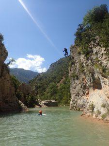 Sierra de Guara Ur eta Lur Canyoning et Randonnée